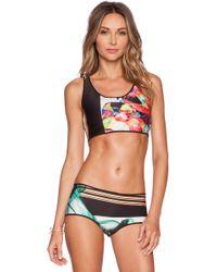 Clover Canyon Liquid Jade Reversible Bikini - Lyst