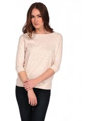 Majestic 3/4 Sprinkle Top - Lyst