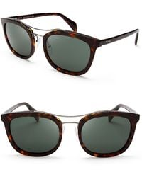 Prada Aviator Sunglasses - Lyst
