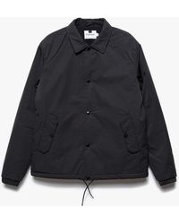 Topman   Black Nylon Jacket   Lyst