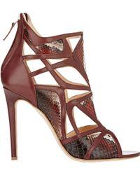 Alejandro Ingelmo Odyssey Sandals red - Lyst