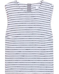 Thom Browne Tweed Top - Lyst