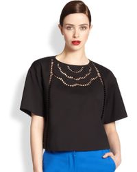 Sachin & Babi Reed Ladder Stitch Top - Lyst