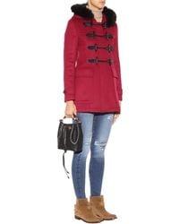 Burberry Brit - Blackwell Wool Coat - Lyst