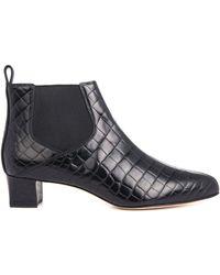 Max Mara Albino Ankle Boots - Lyst