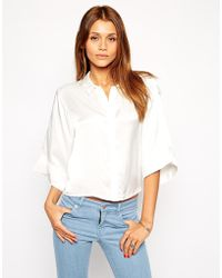 TFNC | Relaxed Shirt With Kimono Sleeve | Lyst