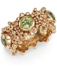 Stephen Dweck - Peridot Beaded Ring - Lyst