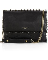 Lanvin Sugar Medium Studded Shoulder Bag - Lyst