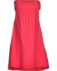 Carla G Short Dress - Lyst