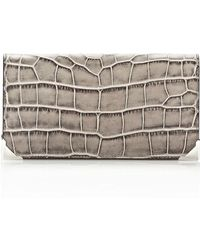 Alexander Wang Prisma Continental Wallet in Oyster - Lyst
