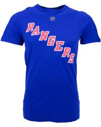 Reebok Mens Shortsleeve Brad Richards New York Rangers Nhl Player Tshirt - Lyst