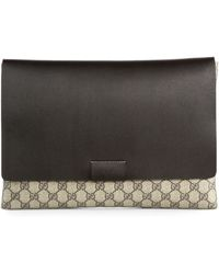Gucci | Gg Flap Pouch | Lyst