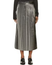 Damir Doma Black Pleated Richea Skirt - Lyst