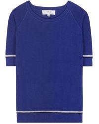 Vanessa Bruno Athé Short-Sleeved Sweater - Lyst