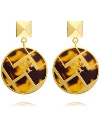 Tory Burch - Aislin Resin Drop Earring - Lyst