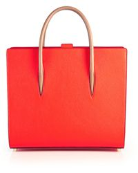 Christian Louboutin | Paloma Pebbled Leather Tote | Lyst
