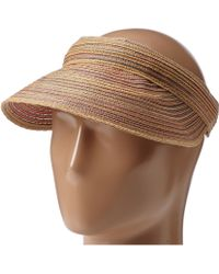 San Diego Hat Company Mxv004 Womens Mixed Braid Visor - Lyst
