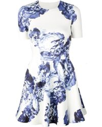 Lover Bloom Scuba Dress - Lyst