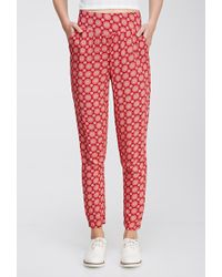 Forever 21 Medallion Printed Pants - Lyst