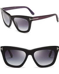Tom Ford - Celina Square Sunglasses, 55mm - Lyst