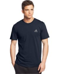 Adidas Go-To Crew-Neck T-Shirt - Lyst