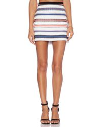 Milly Mini Skirt - Lyst