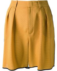 Gucci Perforated Basketballstyle Shorts - Lyst