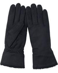 Uniqlo - Women Heattech Lining Faux Leather Gloves - Lyst