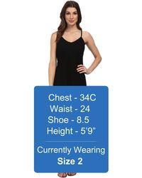 Calvin Klein Slip Strap Maxi Dress - Lyst