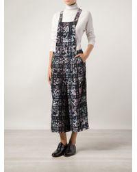 Tibi Floral Jumpsuit - Lyst