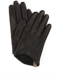Mackage - Alisée-f5 Black Leather Gloves - Lyst