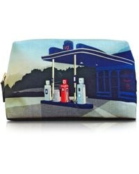 Paul Smith Graphic Garage Print Wash Bag - Lyst
