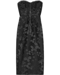 Jill Stuart Helene Cotton and Silkblend Jacquard Dress - Lyst