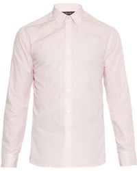 Paul Smith Byard Paisley-Print Cotton Shirt - Lyst