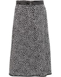 Max Mara Gange Skirt black - Lyst