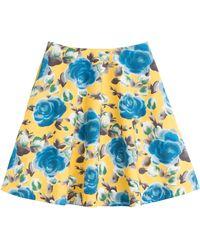 Marc By Marc Jacobs Jerrie Cotton Poplin Skirt - Lyst