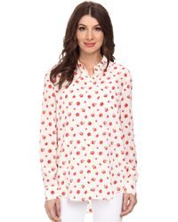 Equipment Reese Printed Button Up - Lyst