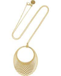 Gucci 18-karat Gold Necklace - Lyst