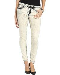 Joe's Jeans Desert Storm Wash Stretch Denim Skinny Ankle Jeans - Lyst