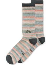 Nike Sb Dri-fit Space Dye Camo Socks - Lyst
