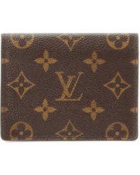 Louis Vuitton Monogram Card Case - Lyst