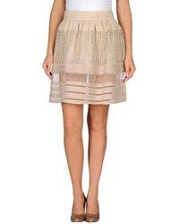 Chloé Knee Length Skirt - Lyst
