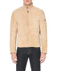 Matchless - Bond Suede Jacket - Lyst