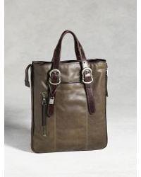 John Varvatos   Bleeker Zip Shopper Bag   Lyst