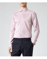 Reiss Route Slimfit Check Shirt - Lyst
