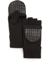 Pink Pony - Lauren Quilted Pop-top Gloves - Lyst