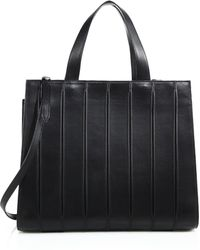 Max Mara Whitney Large Leather Tote black - Lyst