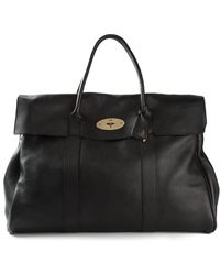 Mulberry - Oversized Bayswater Bag - Lyst