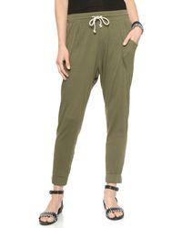 LNA Gypsy Pants - Army Green - Lyst