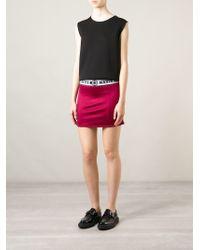 Nasir Mazhar - Logo Elasticated Waistband Skirt - Lyst